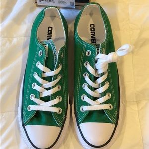 52534e17b7f0a7 Converse Shoes - Converse all star amazon green sneakers - new